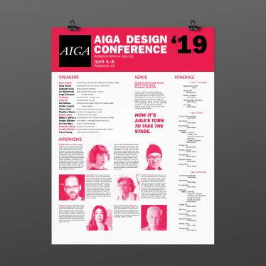 Portfolio - AIGA Conference Poster